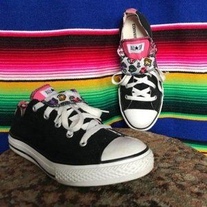 Converse All Star Double Star Leopard Sneaker Tong
